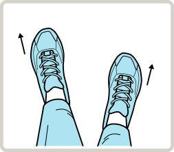 Toes out, over-pronation – recommend running shoes for flat feet or low arch